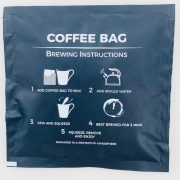 packet instructions lola's coffee bags